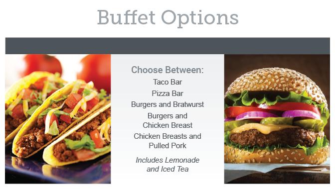 Chestnut Wedding Buffet Options