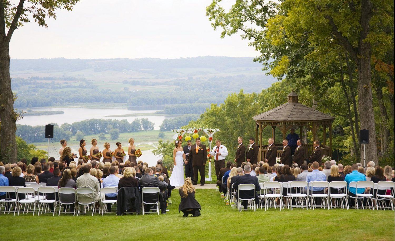 Chestnut Resort Wedding Ceremony