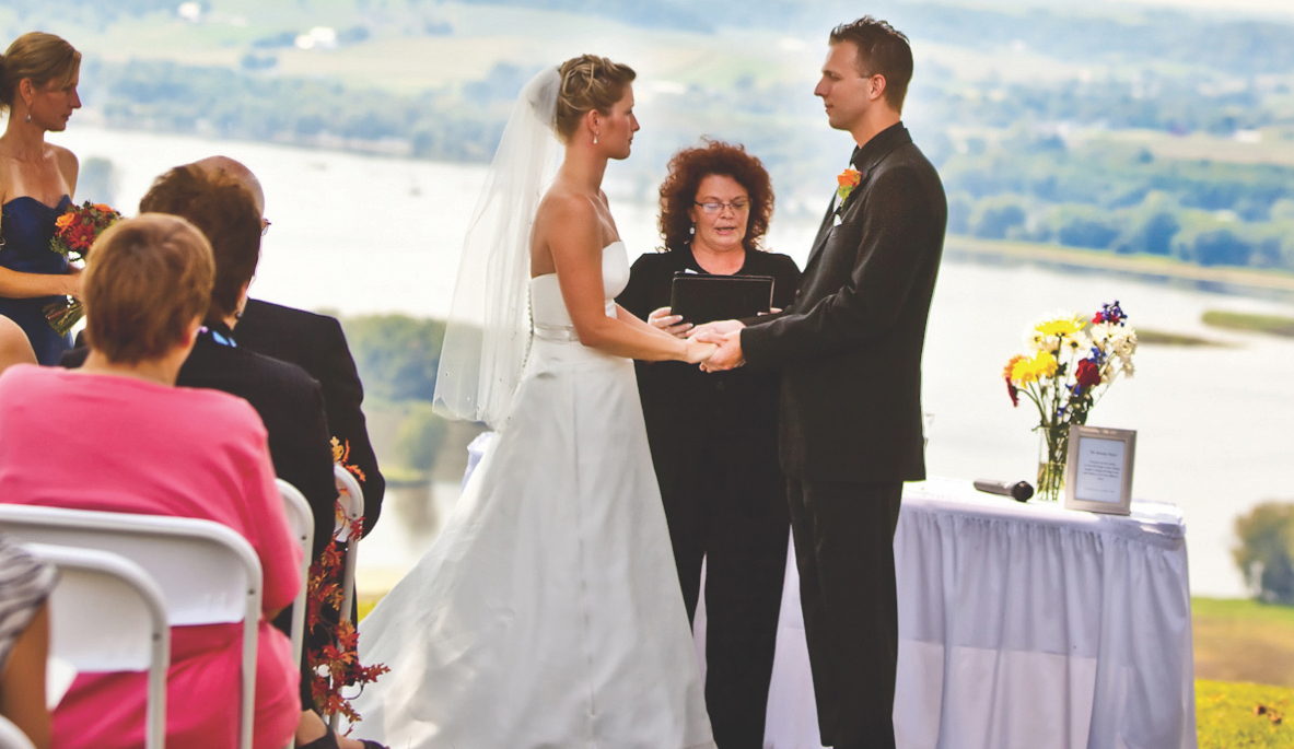 Grand View North Point Wedding