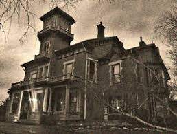Haunted house in Galena
