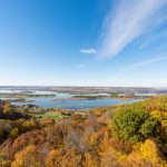 Mississippi River Valley in the Fall